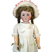 Antique German Bisque Head Doll Kammer & Reinhardt K & R 117