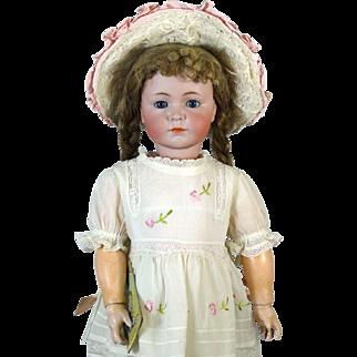 Antique German Bisque Head Doll Kammer & Reinhardt K & R 117