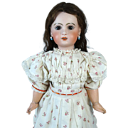 Antique French Bisque Head Doll Jumeau 10