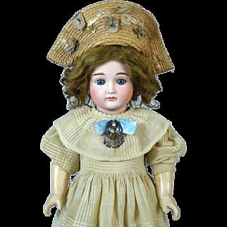 Antique German Bisque Head Doll Johann Daniel Kestner JDK 13