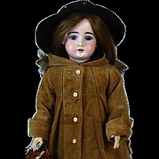 Antique German Bisque Head Doll Arthur Schonau