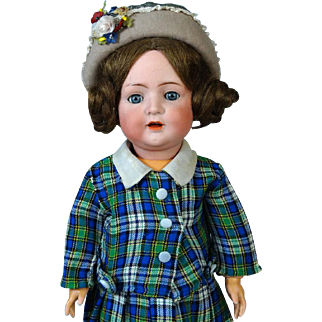 Antique German Bisque Head Doll Bruno Schmidt 692