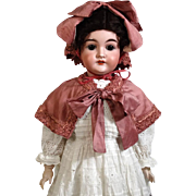 Antique German Bisque Head Doll Karl Hartmann