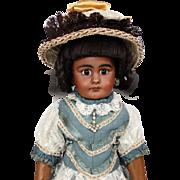 Rare Antique German Bisque Head Doll Simon & Halbig SH 759