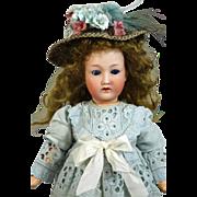 Antique German Bisque Head Doll Gebruder Ohlhaver Revalo