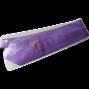 Fabris Venezia Men Purple Tie, 100% Seta Silk Seide, Made Italy