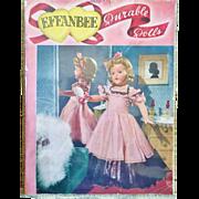 Vintage 1940s RARE Effanbee Baby Doll Catalog Magazine Candy Kid Dy Dee Babykin Patsy Sweetie Pie Little lady