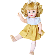 "Vintage 1960's Effanbee Suzie Sunshine Freckles Blonde Doll 18"" baby Susie all Original F&B Suzy"