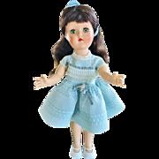 "Ideal P-90w 14"" Toni walker fashion doll dark brunette high color gorgeous 1950's hard plastic"