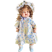 "1930's Petite American Character 21"" composition Sally Joy Perfect Beauty baby doll"