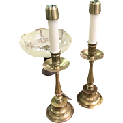 19th century French Church candlesticks