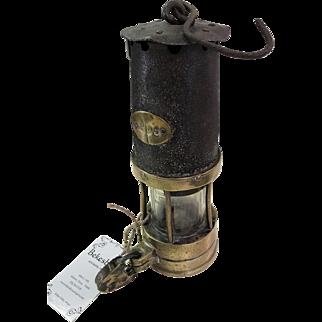 Victorian Miner's Lamp