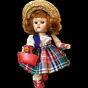 Vintage Vogue PLW Ginny Doll Tiny Miss 1954