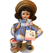 Vintage Vogue Strung Ginny Doll Ginny Series 1952 Wavette