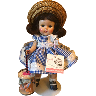 Vintage Vogue Strung Ginny Doll Ginny Series 1952 Wavette
