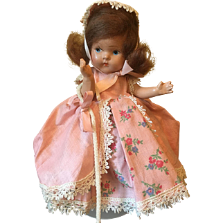 1943 Vogue Toddles Composition Bo Peep Doll