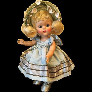 Vintage Vogue Strung Ginny Doll, Tiny Miss Cheryl 1953