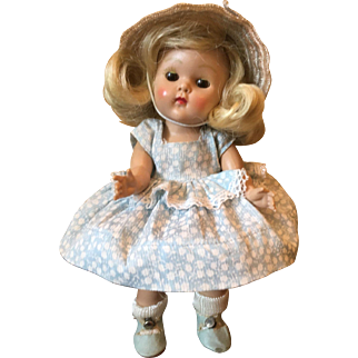 Vintage Vogue Strung Ginny oll 1952 Tiny Miss Glad