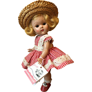 Vintage Vogue Strung Ginny Doll Wavette 1951-52