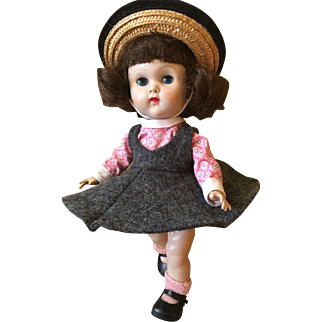 Vintage Vogue Ginny Doll 1956 Play Time