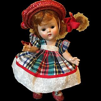 Vintage Vogue Ginny Doll 1952 Tiny Miss Wanda Redhead