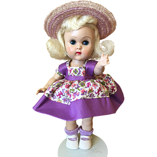 Vintage Vogue MLW Ginny Doll Tiny Miss 1955