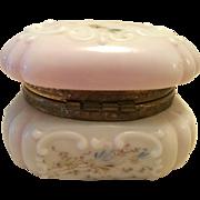 Signed C F Monroe WaveCrest Egg Crate Dresser Box Circa 1890