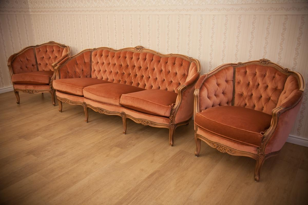 Louis Xv Living Room Set From 2nd Half Of 20th Century