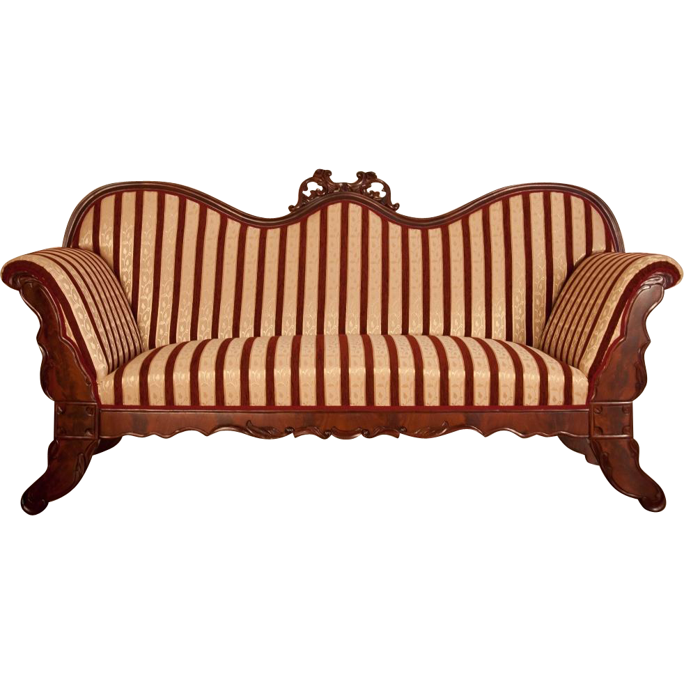 Sofa In Biedermeier Style From 1860