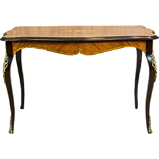 Rectangular Table in the Louis Type -- The 2nd Half of the 20th Century