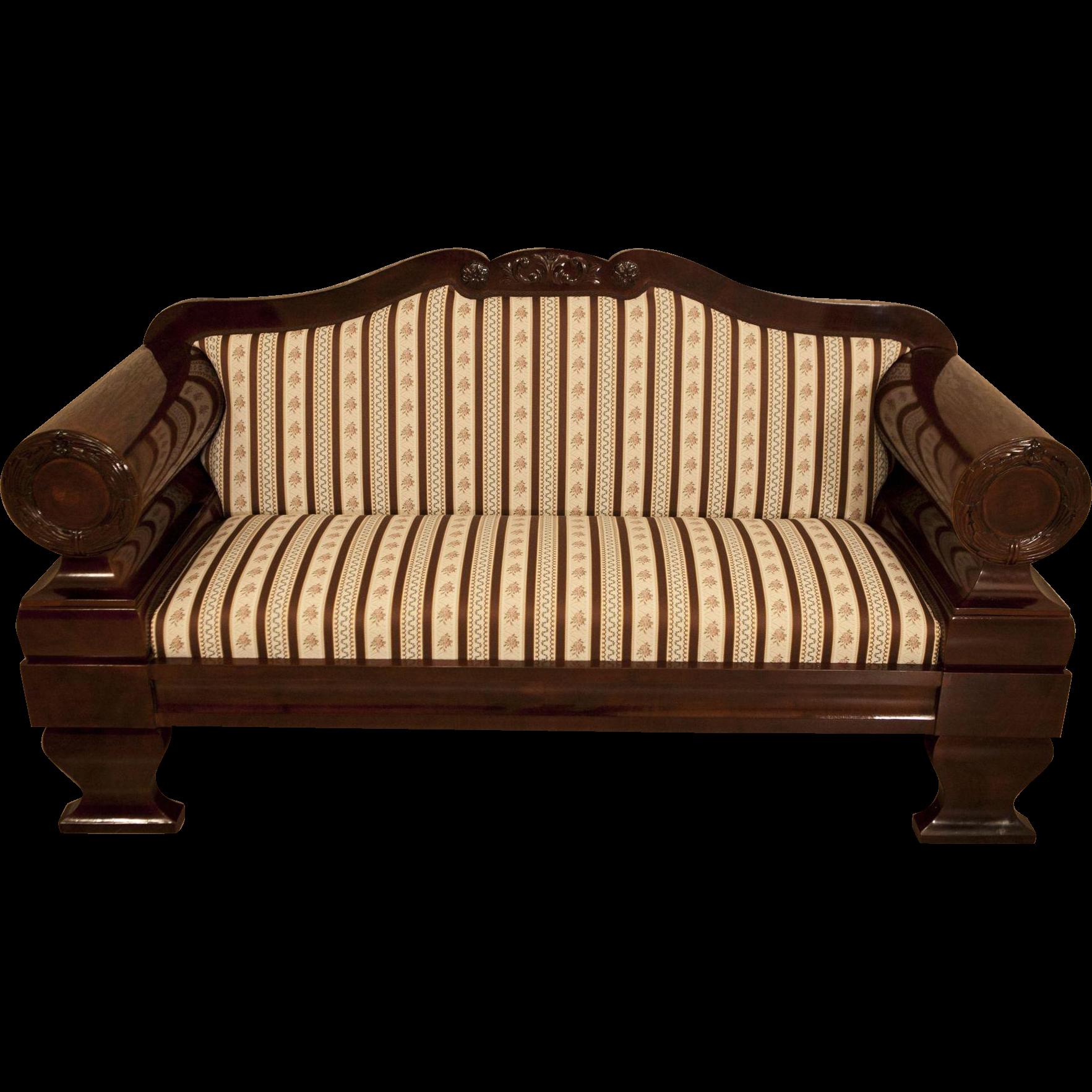 Biedermeier Sofa Refil Sofa