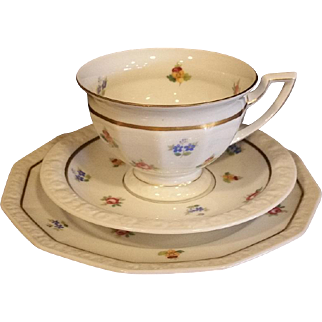 """Maria"" Rosenthal Set, Signature from the Years 1922-1923"