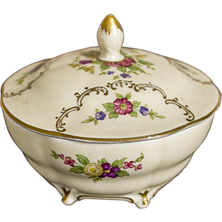 Rosenthal Sugarl Bowl -- The Early 20th Century