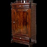 Vertico/Linen Cabinet, Circa 1860 -Northern Europe