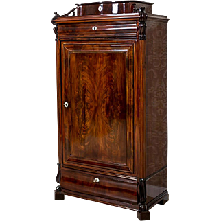 Vertico/Linen Cabinet, Circa 1860 -Northern Europe