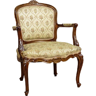 Beautiful Armchair from 19th/20th Century in Rococo Style - Northern Europe