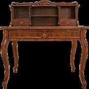 German Mahogany Writing-Desk from ca. 1910