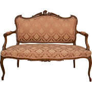 French Sofa in Rococo Style around 1900
