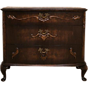 Commode from 20th Century walnut