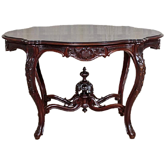 Table from 1850 in Louis Philippe Style
