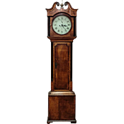 Wonderful Grandfather clock with Derby mechanism, England - ca. 1890