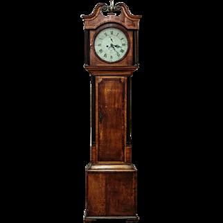 Wonderful Grandfather clock with Derby mechanism, England - ca. 1890