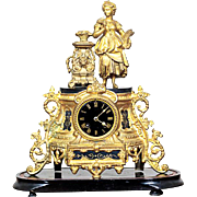 Vincent & Cie. Bracket Clock ca.1890