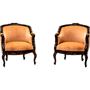 Two Armchairs from 1920 in Rococo style- Northern Europe
