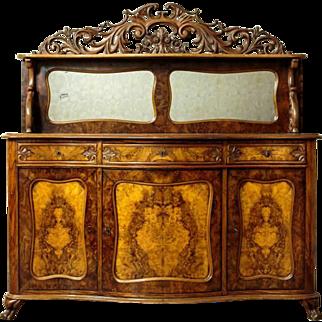 Neo-Rococo Cupboard/Buffet, circa 1850