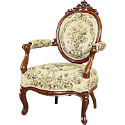 Louis Philippe Armchair from the 19th Century