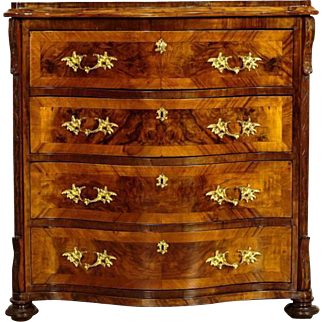 Unique Commode from 1890 in Neorococo Style - Northern Europe