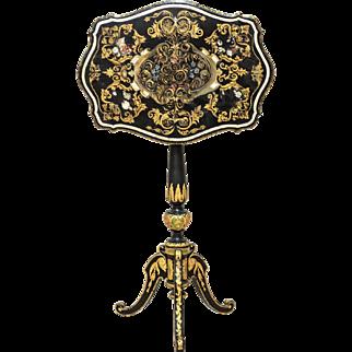 Papier-mâché Table from ca. 1850 - England