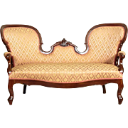 Decorative Sofa in Louis Philippe Style about 1880 - Western Europe