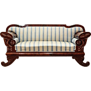 Late Empire Sofa from ca. 1830